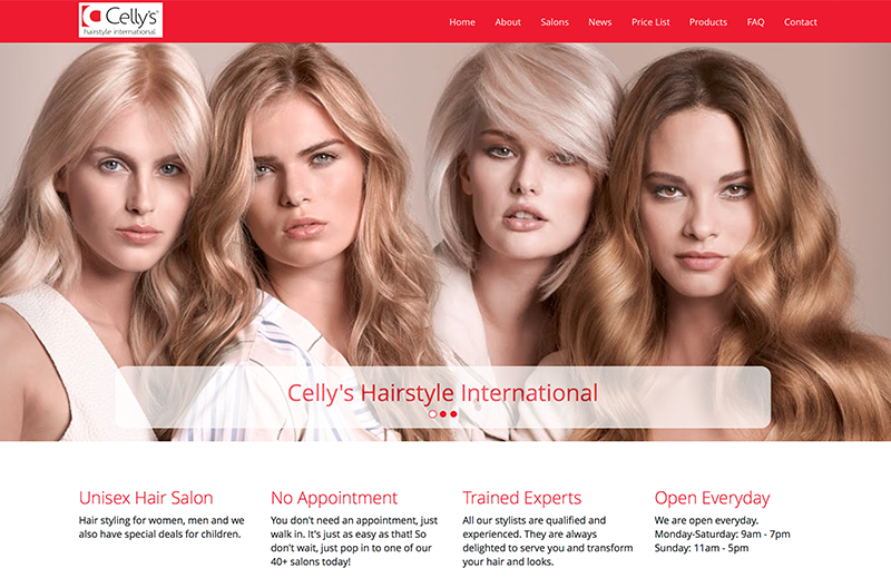 Celly's Hairstyle International - Portfolio Image