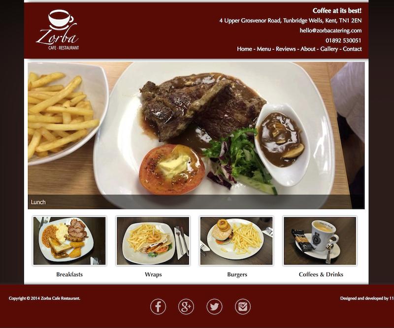 Web portfolio online graphic experiences 1108 studios for Anatolia cuisine brighton